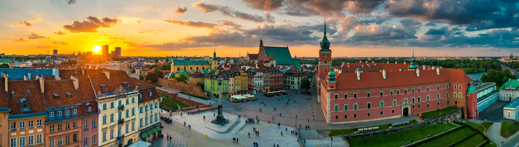 Vliegreis Warschau