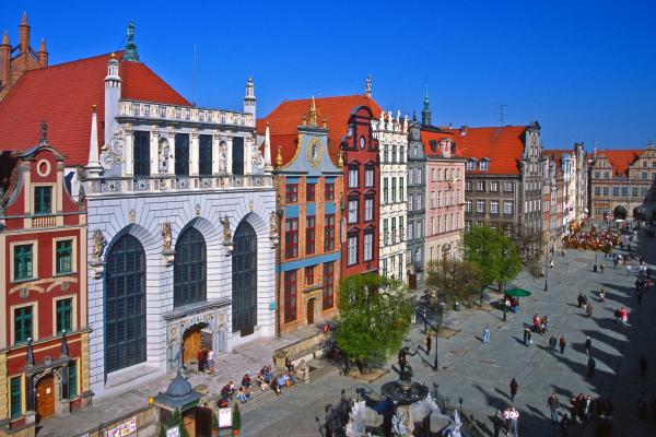 Gdańsk - 4-daagse vliegreis