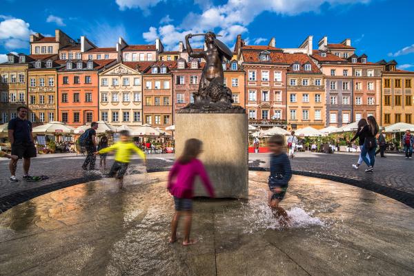 Warszawa Het Kasteelplein