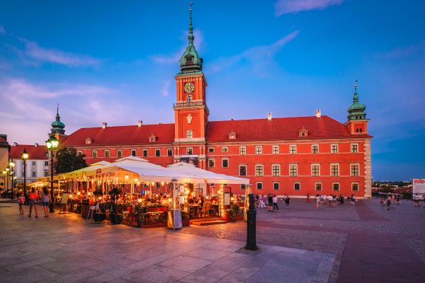 Autoreis / vliegreis Krakau / Warschau