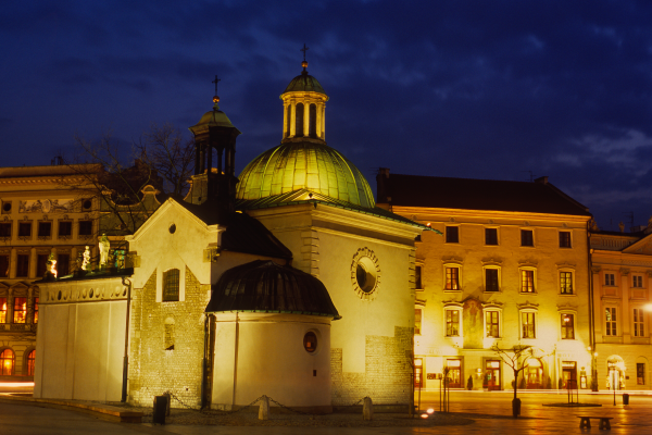 Krakau, St Adalbert's Kerk