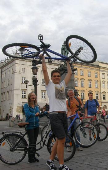 Krakau bike trip