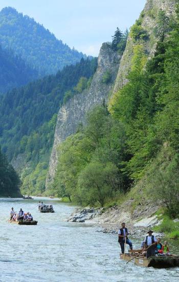 Vlottocht op de rivier Dunajec