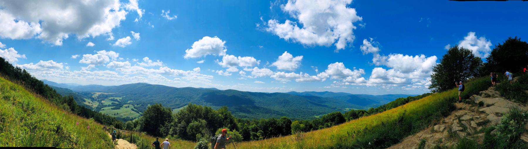 Bieszczady panorama2