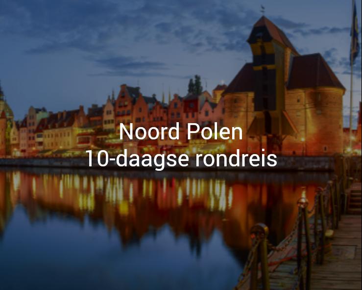 Noord Polen auto rondreis