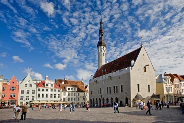 Tallinn - autoreis Estland