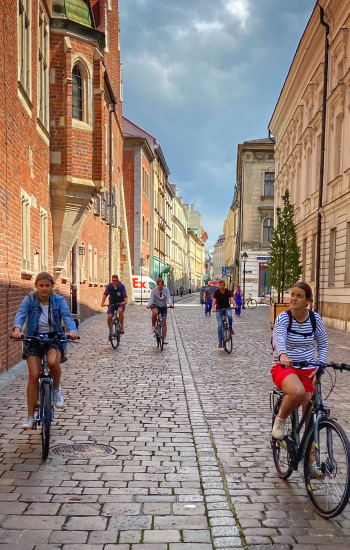 Krakau fietstour met Nederlandssprekende gids