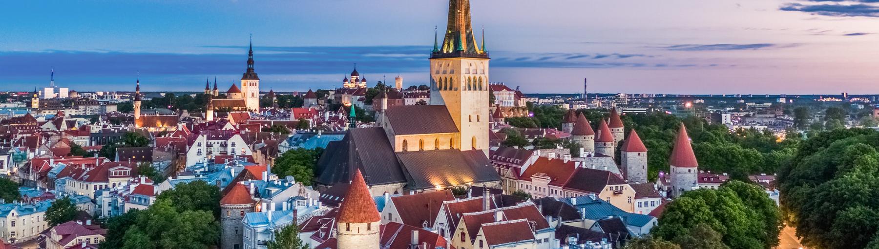 Vliegreis Tallinn